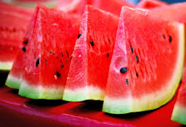 Slices of yummy watermelon!