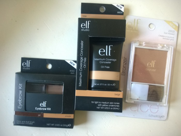 My e.l.f Make Up Mini Haul….
