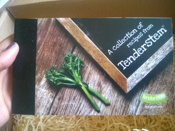 Got my goodies from Tenderstem. Yay!