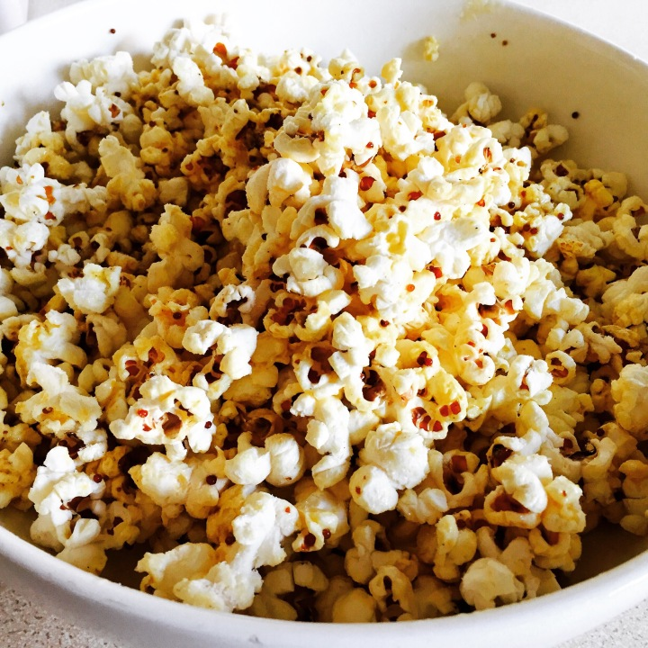 Popcorn, glorious popcorn!