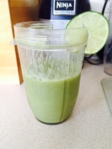 Green with envy smoothie
